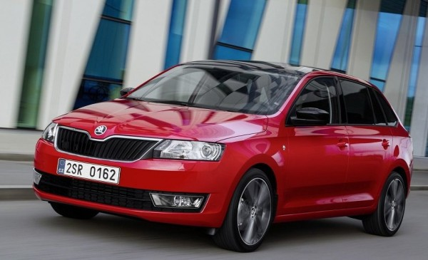 Новая Skoda Rapid Spaceback 2014