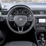 Фото места водителя в Skoda Rapid Spaceback