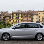 Skoda Rapid Spaceback - фото в профиль